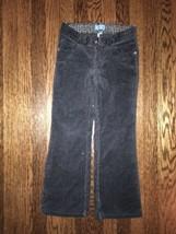 ! childrens place black flare stretch corduroy pants jeans bottoms sz 6 ... - $6.02