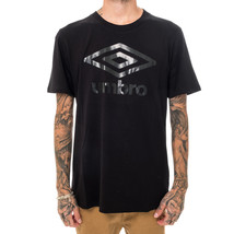 T-SHIRT UOMO UMBRO TSHIRT IN JERSEY 19ITPU0414.BLK  TEE SHORT SLEEVE MAN... - $43.63