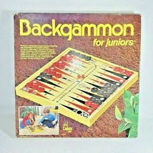 Backgammon for Juniors Vintage Board Game by Cadaco1970's , **Read Desc - $61.76