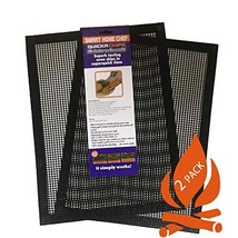 Grill Mat BBQ ToolSET of 2 - Mesh BBQ Fish and Vegetable Mat Non Stick T... - $27.60