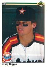 Craig Biggio, Astros, Upper Deck 1990, #104 - $1.25