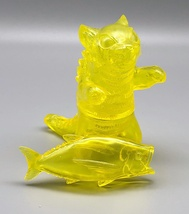 Max Toy Clear Yellow Negora w/ Fish image 2