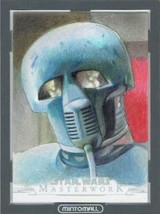 2018 TOPPS STAR WARS MASTERWORK Sketch Card Artist Dan Tearle - $135.63