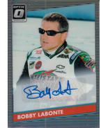 Bobby Labonte 2019 Donruss Optic Racing Retro Holo Parallel Auto Card #6... - $40.00
