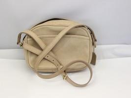 Vintage Cross Body Beige Coach shoulder bag - $89.99