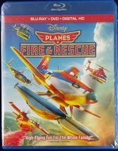 Disney/Pixar Planes Fire and Rescue (Blu-ray + DVD + Digital HD, )