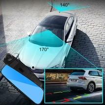 Dual Lens DashCam Vehicle Front Rear Car Camera HD 1080P Video Recorder - $49.99
