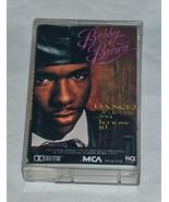 Dance Ya Know It By Bobby Brown R&b Cassetta Nov-1989 MCA Records USA - $8.36