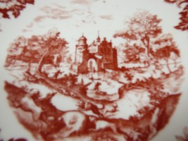 Winterling Bavaria Marktleuthen Germany China old castle Pattern Coupe Soup Bowl - $24.75