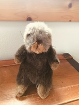 Gently Used Unipak Brown Plush Small Otter Stuffed Animal – 10 inches ta... - $6.79