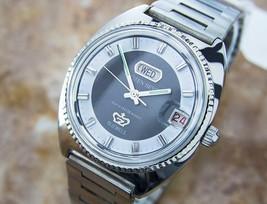 Citizen Seven Rare Vintage Manual Men's Japanese Retro Watch Circa 1960s... - $833.65