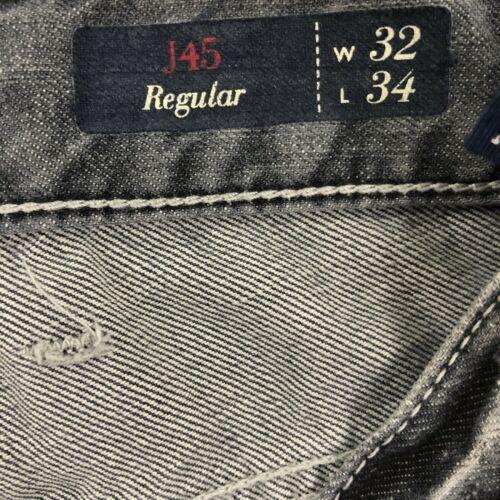 Armani Men's Gray Jeans Straight 32 image 7