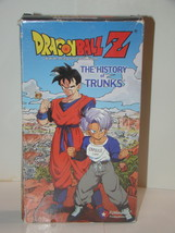 DRAGON BALL Z - THE HISTORY of TRUNKS (VHS) - $12.00