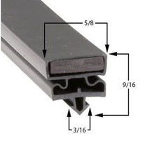 Commercial Refrigeration Gasket Delfield VRR1RG Part# (170-1285) - $79.15