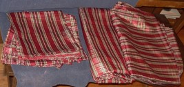 Vintage Gently Used Set of 8 Polyester Napkins and 2 Matching Tablecloth... - $39.59