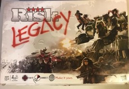 New RISK LEGACY Game Box Opened ~ Everything Inside Sealed/Unopened/Unpunched - $46.74