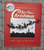 The Night Before Christmas Cut Out Paper Edition Clement C. Moore HC boo... - $8.90