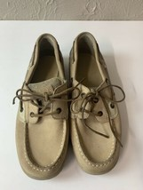 Sperry Top-Sider Women's Deck Boat Shoes Bluefish 2-Eye Tan Leather Size 6 - $18.66