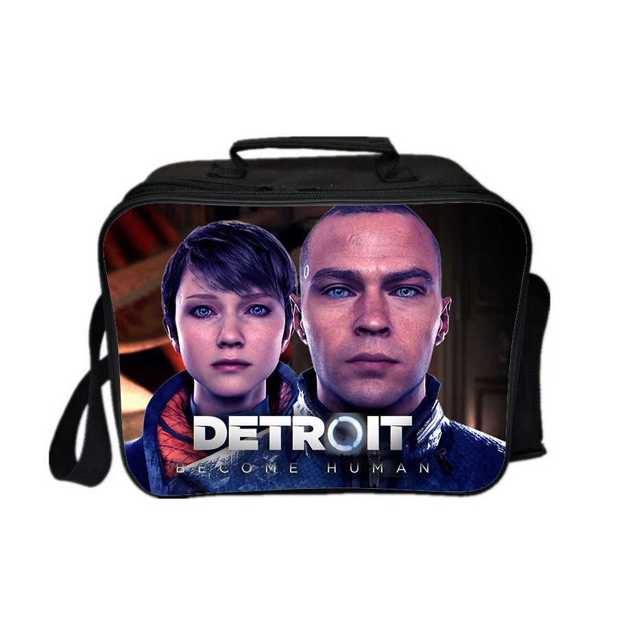 Detroit become human lunch box new series lunch bag pattern c