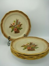 Mikasa Whole Wheat Autumn Song E8003 5 Dinner 10 1/2' Plate Perfect Cond... - $49.49