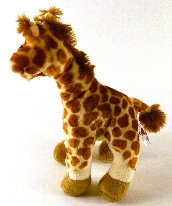 "Webkinz Ganz GIRAFFE HM403 Stuffed Beanbag Plush No Code 11"" tall image 3"