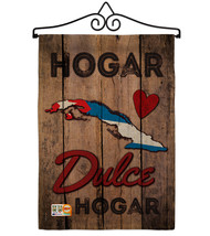Country Cuba Hogar Dulce Burlap - Impressions Decorative Metal Wall Hang... - $33.97