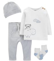 Carter's 4pcs Baby Boy Outlet Set, Size: 9 Months  - $15.99