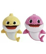 WowWee Pinkfong Baby & Mommy Shark Song Puppets (2) w/Tempo Control NWT ... - $29.99