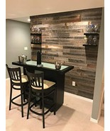Real Wood! Reclaimed barn Wood Wall Paneling. Planks Accent Walls 46 Squ... - $248.43