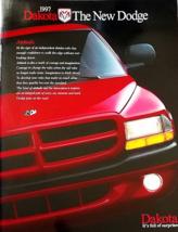 1997 Dodge DAKOTA sales brochure catalog 97 Sport SLT  - $8.00