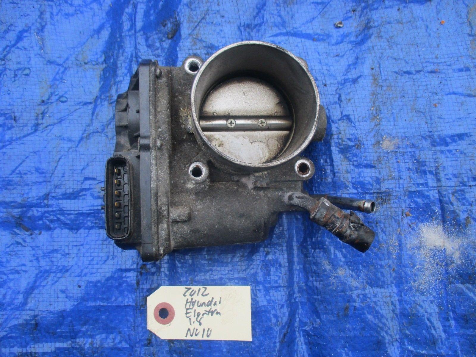 2012 Hyundai Elantra 1.8 NU10 throttle body assembly engine motor OEM electronic
