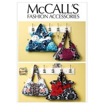 McCall's Patterns M6578 Bags, One Size Only - $15.68