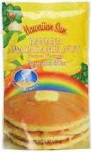Banana Macadamia Nut Pancake Mix, 6 Ounce by Hawaiian Sun - $12.89
