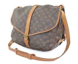 Authentic LOUIS VUITTON Saumur 35 Monogram Crossbody Shoulder Bag Purse ... - $389.00