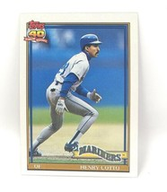 1991 Topps Baseball Card #634 - Henry Cotto - Seattle Mariners - OF - $0.99