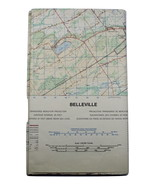 Map Belleville Ontario Department of National Defence Canada 1977 MCE 13... - $14.97