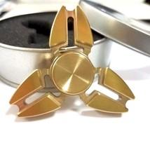 2017 EDC Tri-Spinner Fidget Toys Pattern Hand Spinner Metal Fidget Spinner - $8.59