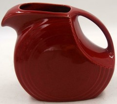 Fiesta Red Large Disk Pitcher EUC - $42.74