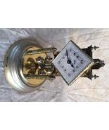Schatz 400 Day Clock Ornate Diamond Shape Dial & Columns c. 1955 - $299.00