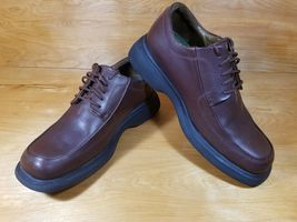 Brown Comfort Leather Smart Oxford 10M VGC Mens Timberland Work Systems Shoe Sz x4HCq0wn0