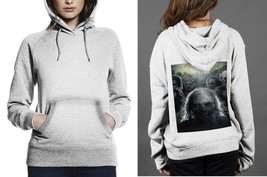 Classic Hoodie White women Zombies-The-Walking-Dead - $28.99