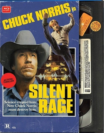 Silent Rage-Retro Vhs Look (Blu-Ray)