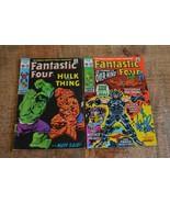 Fantastic Four #112 113 Hulk Overmind app (Marvel Comics, 1971) Lot of 2 - $58.04