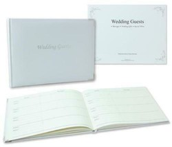 Wedding Guest Book Celebration With Keepsake Box White Special Message N... - $13.05