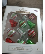 December Home Handcrafted Glass Ornament Set - $18.57