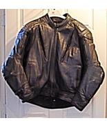 Vintage Distressed FieldSheer Heavy Duty Leather Motorcycle Jacket Armou... - $199.99