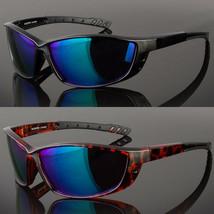 Mens Sports Sunglasses Polarized Black Golf Cycling Fishing X-Loop New Design - $6.19