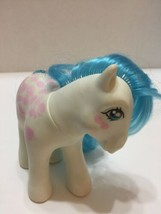 """Vintage Hasbro My Little Pony Twice as Fancy """"Fifi"""" 1987 Pink Bows Hong Kong - $7.69"""