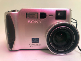Sony Cyber-shot DSC-S70 3.1MP Digital Camera for Parts - $9.89