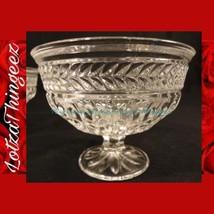 (4) Shannon Crystal by Godinger SYMPHONY Short Stem Dessert Bowls - $18.80